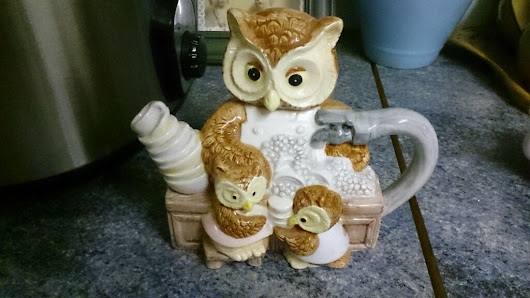 Novelty Collectable teapot of Owl and her Children | United Kingdom | Gumtree