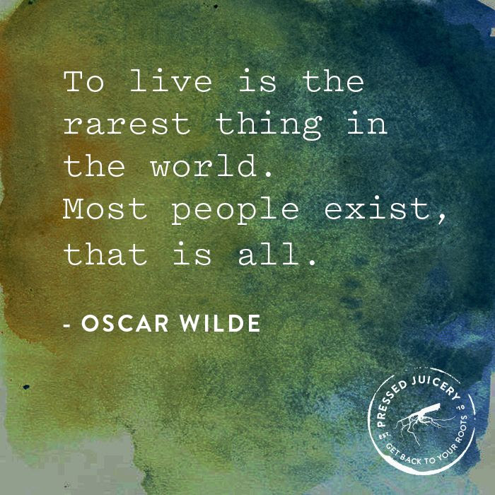 Charming Life Pattern Oscar Wild Quote To Live