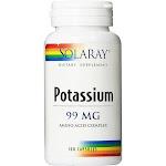 Solaray Potassium 100 Capsules 99 mg