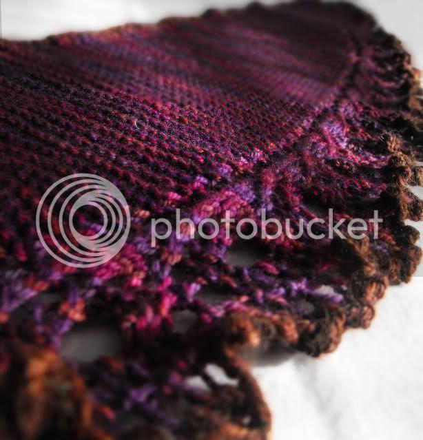 roundabout shawlette