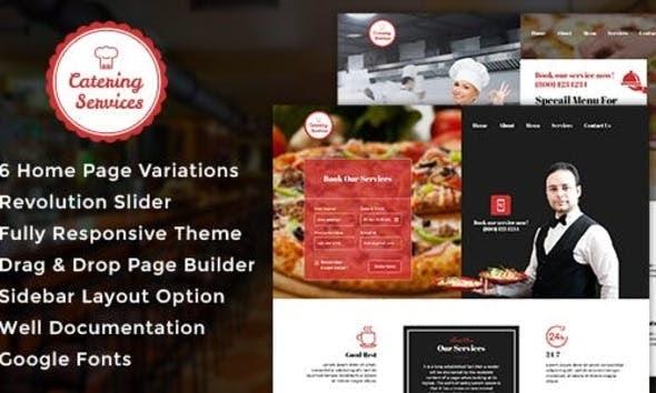Catering v1.1 - Chef - Restaurant - Catering WordPress Theme