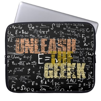 Unleash the Geek Laptop Case