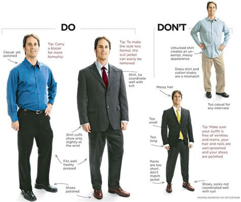 business casual  traditional interview attire  men
