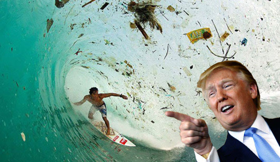 """Ha ha! Get bent, EPA!"" -Donald Trump"