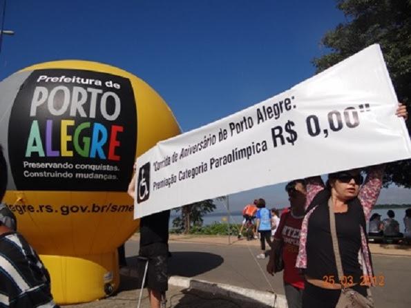 Descaso na 9a Corrida de Aniversário de Porto Alegre
