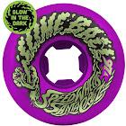 Santa Cruz Skateboard Old School Wheels 56mm Vomit Mini 97A Purple
