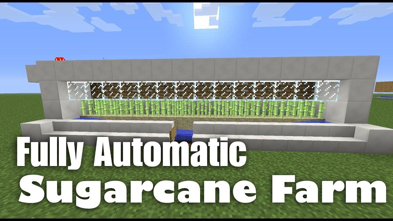 Fully Automatic Sugarcane Farm Tutorial (works in ...