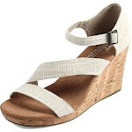 TOMS Women's Clarissa Wedge Natural