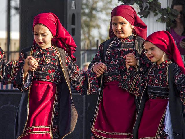 Dancing at the Greek Food Festival 1