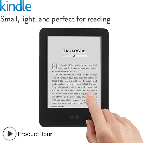 Kindle Touch Screen E-Reader