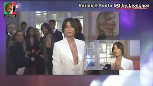 Marta Faial sensual na festa GQ