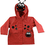 Western Chief Kids Ladybug Rain Coat Red 2T
