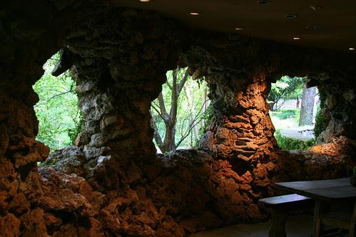 Hegi Garden inside the grotto