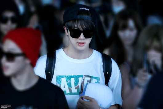 [Airport Fashion] 150806 BTS from Incheon to Bangkok