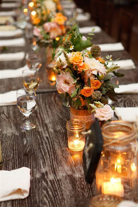 Rustic Farm Tables   Montana Wedding Venue   Barn wedding