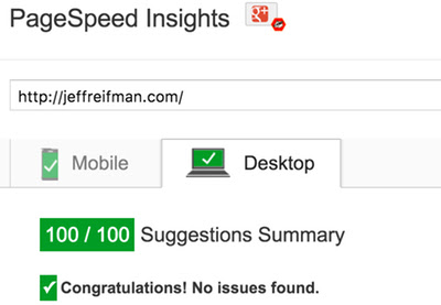 Optimizing Google PageSpeed to 100 in WordPress