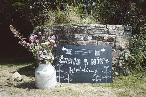 Rustic coastal farm wedding in Wales   Our wedding