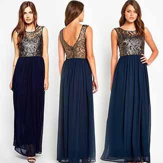 Evening party maxi dresses