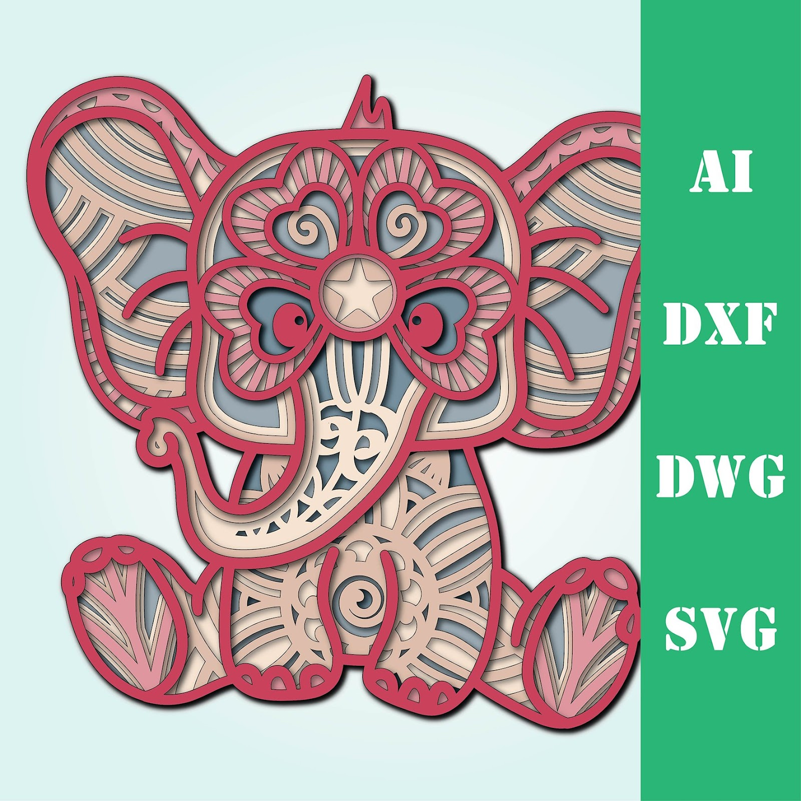 171+ Baby Elephant Mandala Svg Free – SVG Bundles