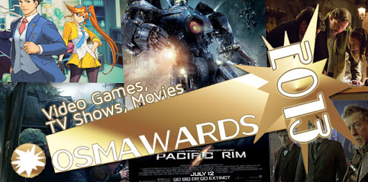 OSMcast! The 2013 OSMawards Part I: Video Games, TV Shows, Movies 1-6-2014