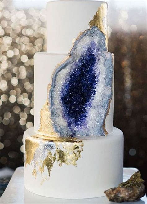 The Most Beautiful Crystal Cakes You Will Ever See