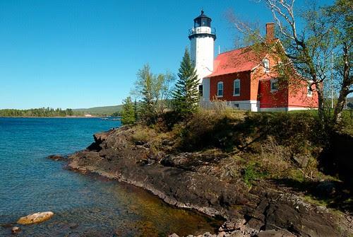Eagle Harbor Lighthouse by dcclark