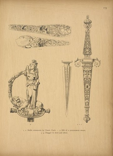 'Pattern book for jewellers' by A Fischer (1880s) (NYPL)