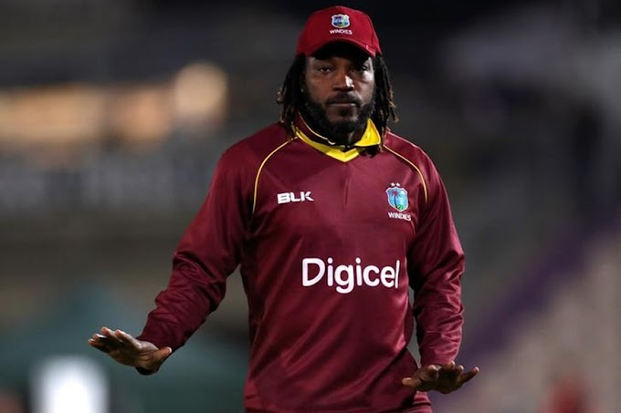 Gayle to Retire From ODIs After 2019 World Cup