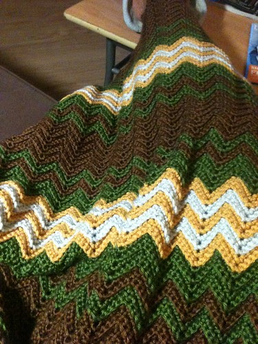 Chevron in progress