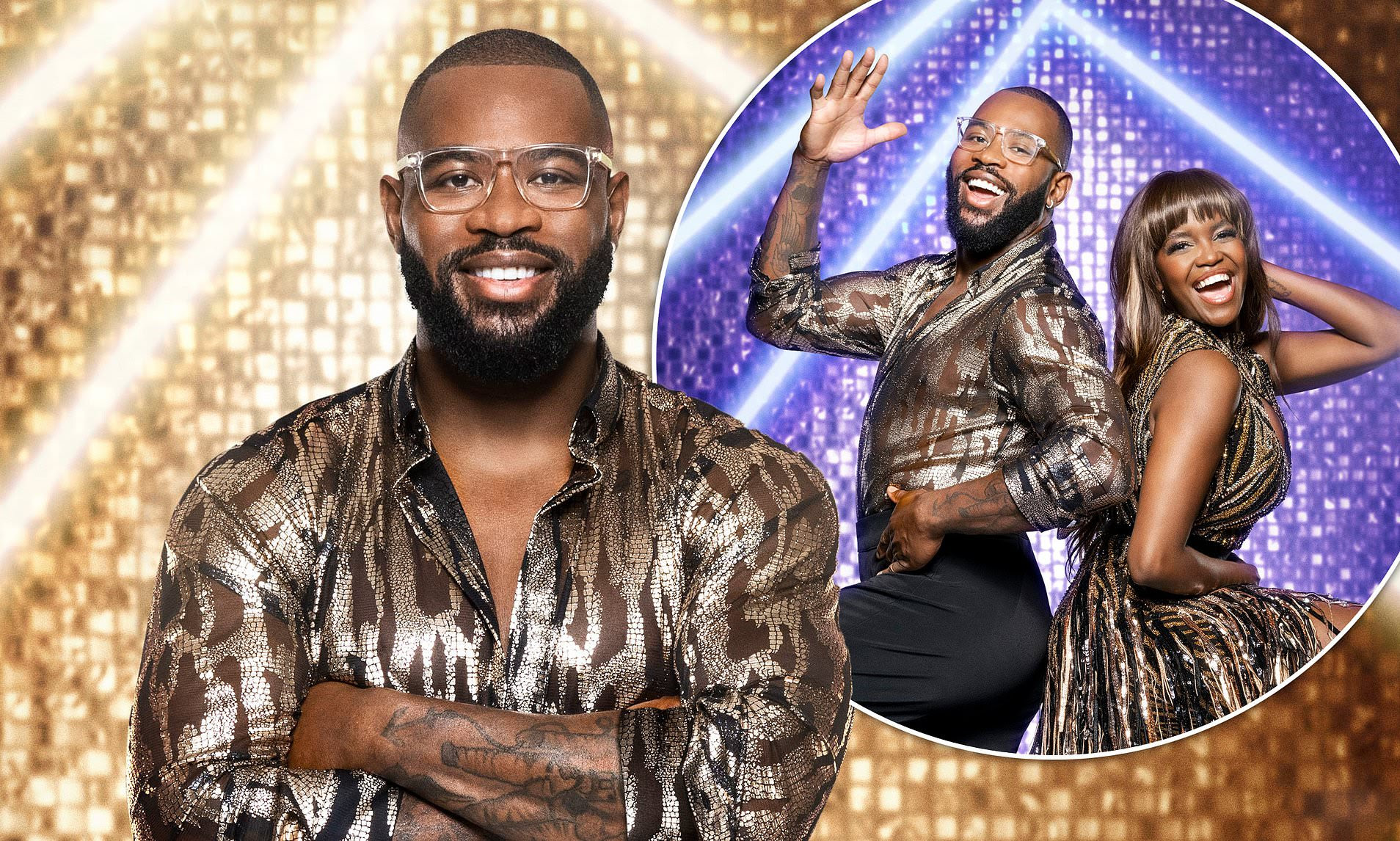 Strictly's Ugo Monye is forced to pull out of Saturday's live show