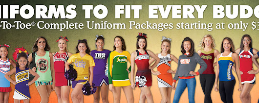 Cheerleading Company - The Industry Leader in Cheerleading Uniforms, Shoes, Accessories, Pom Poms and Cheerleader Campwear