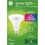 GE Lighting 93101230 9 watt Grow Light LED Bulb for Seed & Greens