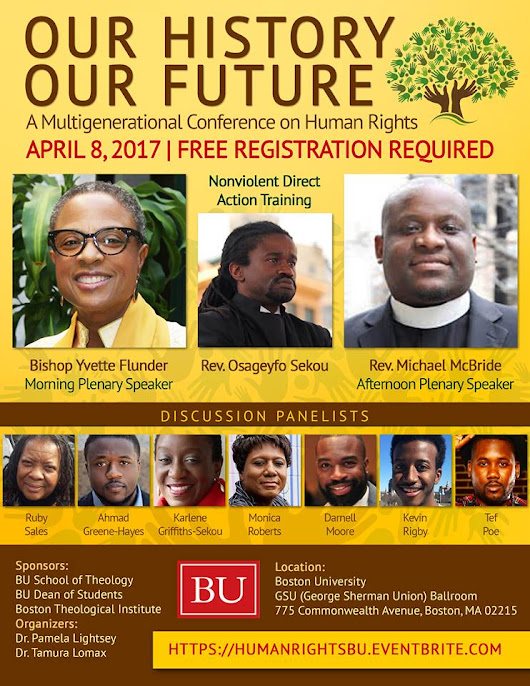 Out History, Our Future: A Multigenerational Conference on Human Rights