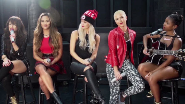 "G.R.L. Put An Acoustic Spin On Britney Spears' ""Perfume ..."