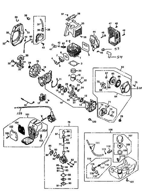 Atom 102 Edger Engine Parts List