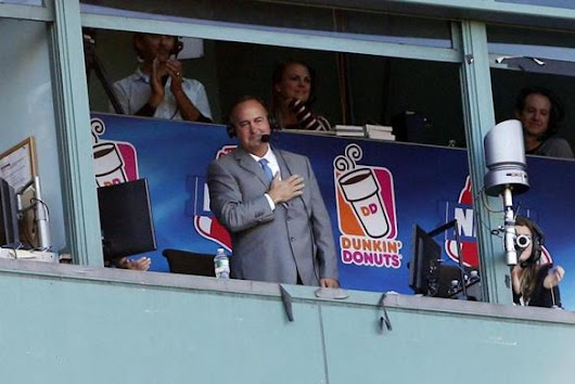 Don Orsillo deeply moved by fans' tribute at Fenway Park - The Boston Globe