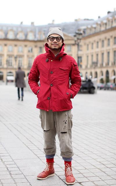 O lado (mais) oriental da Place Place Vendôme