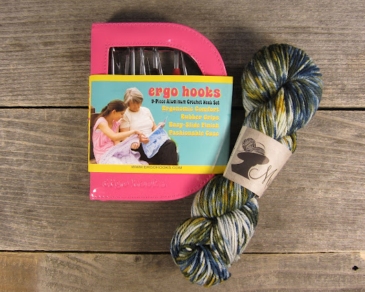 Enchanting Ergo Hook Set and Yarn