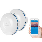 Wasserstein Smart Wi-Fi Water Sensor, Flood and Leak Detector - Alarm and App Notification