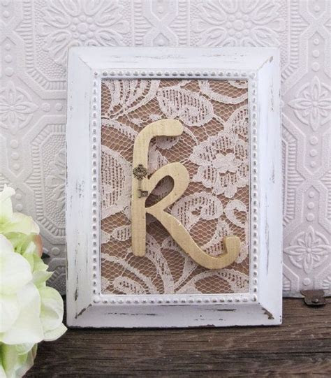 Bridal Shower Decorations Wooden Letters Rustic Chic