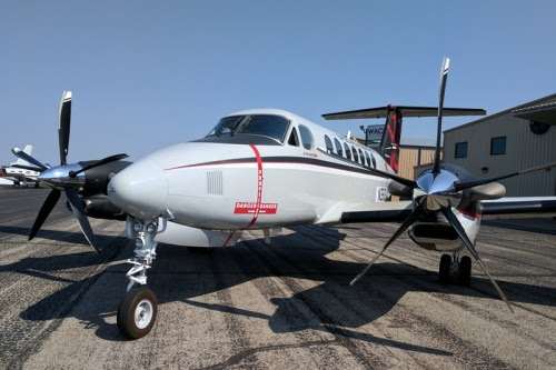 Beechcraft King Air 350ER для … ВВС Кувейта |