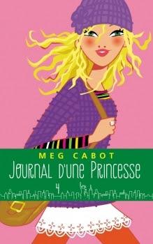 Couverture Journal d'une Princesse, tome 04 : Une Princesse dans son palais / Paillettes et courbettes