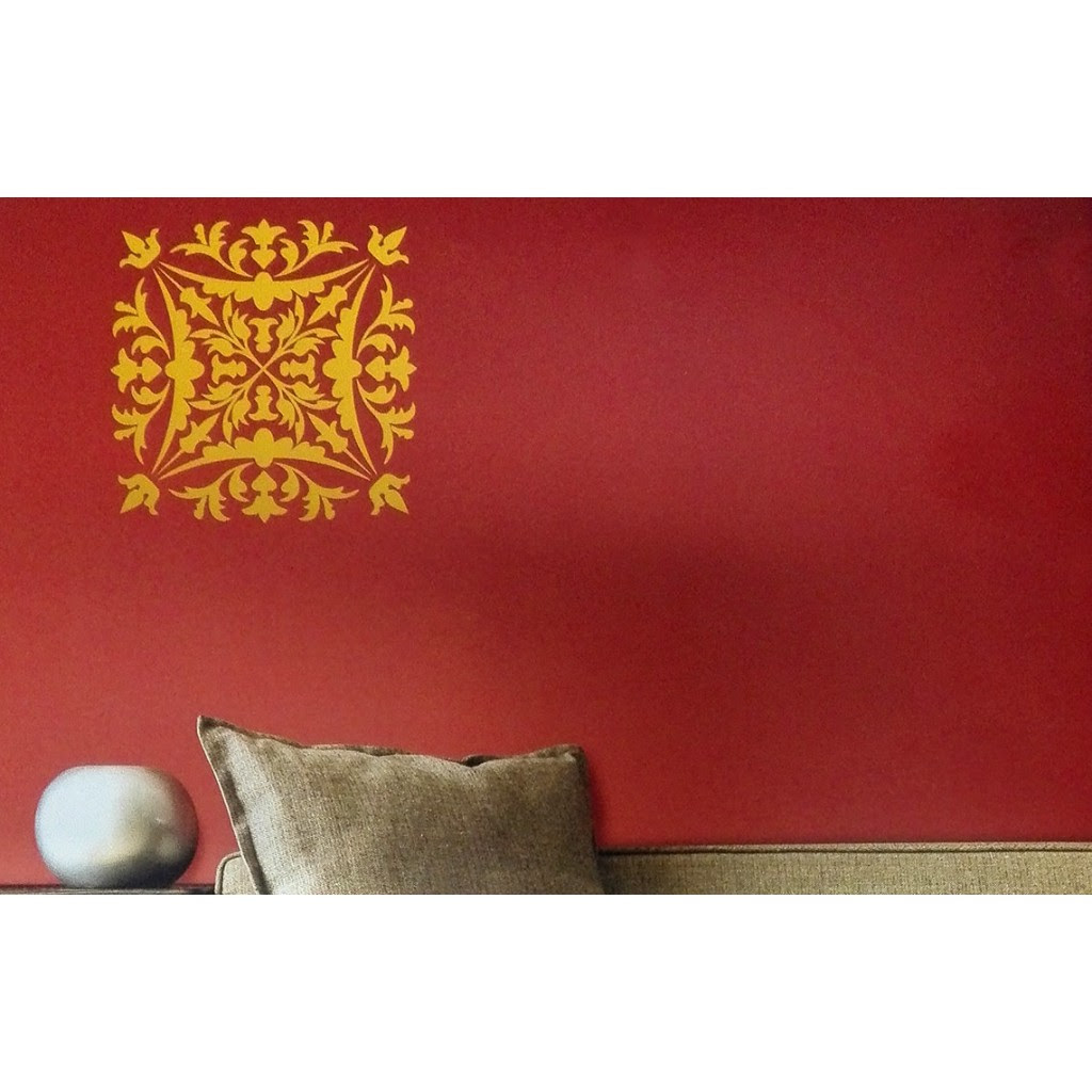 Crest Asian Paints Wall Fashion Stencil Buy Online