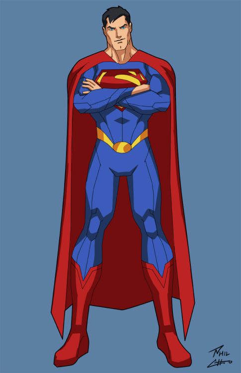 Superman by Phil Cho (If you like, click to see more.)