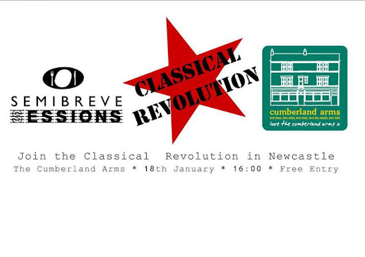 NEWS: Classical Revolution @ The Cumberland Arms, Newcastle