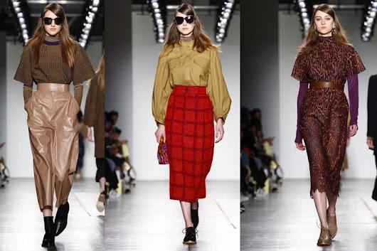 Karen Walker Brings Utilitarian Glam to New York Fashion Week - Fashion Mingle