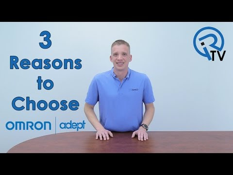 3 reasons to choose Omron Adept
