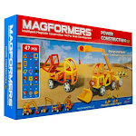 Magformers 63090 Geometric Power Construction 47 Piece Set