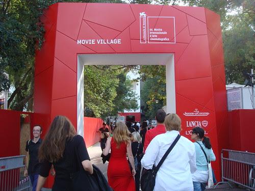 Entering the Venice Film Festival