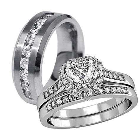 Collection cheap his and her wedding bands   Matvuk.Com